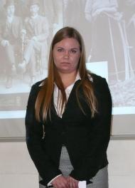 Pro gradu -palkinnon saaja Terhi Reiterä.